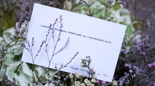 cartes de visites Imprimerie Schneider