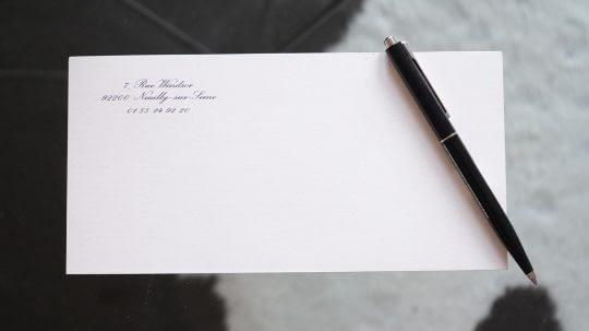 lettres de correspondance Imprimerie Schneider